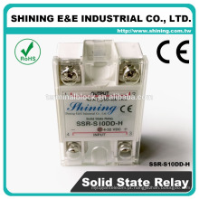 SSR-S10DD-H 400V Sem ruído DC DC Single Solid State Relay 10A