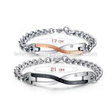 Bracelets couples assortis, couple love forever bracelet bijoux
