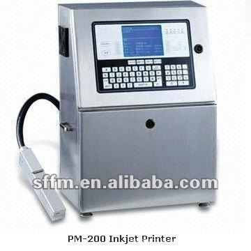 PM-200 Pantalla de teclado LCD Impresora de inyección de tinta