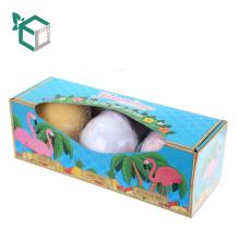 Paquete de bombas de baño orgánico de lujo vendedor caliente para los niños