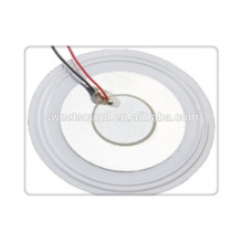 Factory of piezo ceramic elements with solder wire
