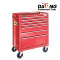 Garagem Tool Box Organizador De Armazenamento No Peito Gabinete 7 Mecânico Da Gaveta De Rolamento Novo