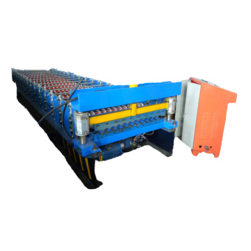 Lembaran Beralun Roll Glazed Roll Forming Machine