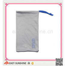 Eyewear Bag, Soft Touch Microfiber Bag for Eyewear/Sunglasses/Glasses/Goggle with Logo Printing