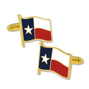 Texas State Flag Map Cufflinks Perfect for Men or Women