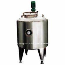Sanitary Stainless Steel Tank Heating and Cooling Tank with Mixer