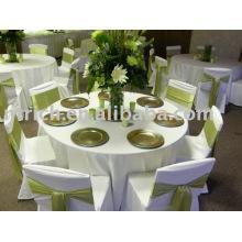 Toalha de mesa elegante para banquetes, toalhas de mesa