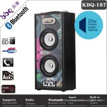 BBQ 20W marquee light karaoke bluetooth speaker cd player