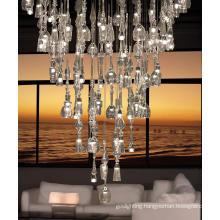 Shining Banquet LED Clear Glass Hanging Project Decoration Light
