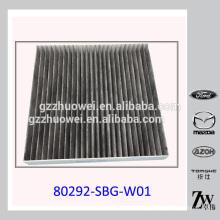 OEM Dernier Filtre à air de cabine de voiture gris 80292-SBG-W01 de Gray 80292-SBG-W01