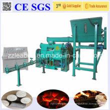 Labour Saving Automatic 1000kg/H Wood Sawdust Biomass Fuel Briquette Plant Line