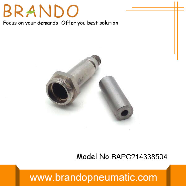 57.8mm Height Pneumatic Solenoid Valve Plunger Tube