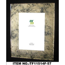 Transparent Gold Foil Paper Glass Photo Frame
