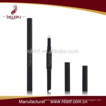 AS10-1, 2015 Hexágono lápiz de cejas con cepillo de pestañas