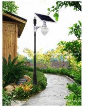 Luz solar integrada da luz do jardim do diodo emissor de luz da forma de Apple luz de rua solar integrada