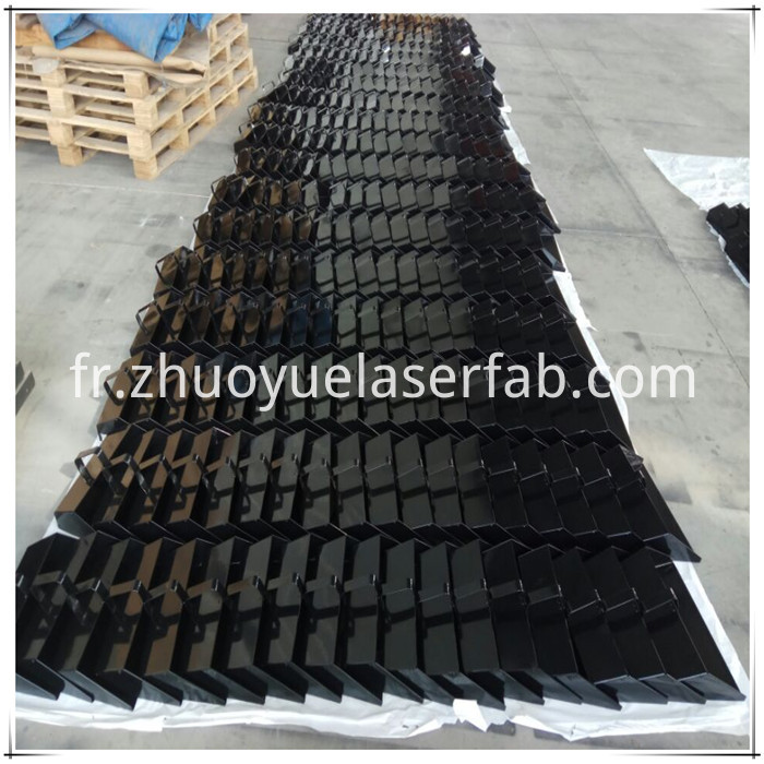 Steel Dustpan with black color powder coating