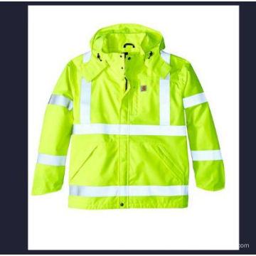High Visibility Klasse 3 wasserdichte Jacke für Herren