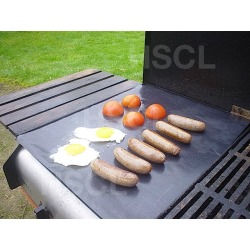 BBQ Non-stick Grill Sheet 50x40cm PTFE Cooking Mat, Ideal For Use On Publich BBQs oOr With Messy Marinades