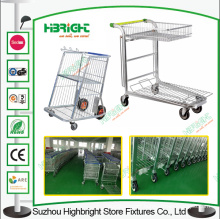Greenhouse Flower Cart Logistic Warehouse Storage Trolley