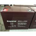 Bateria à espera acidificada ao chumbo 12V 85ah do Motorhome do AGM do sistema solar