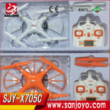 NEW RC DRONE WITH FPV CAMERA/HEADLESS MODEL REAL-TIME UAV DESIGN AUTOPILOT/2.4G 4CH 6AIXES RC DRONES FOR SALE SJY-MJX-X705C