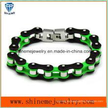 Pulsera de la joyería de Shineme Pulsera de los hombres del acero inoxidable de la personalidad (BL2818)