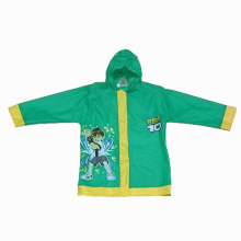 Plastic Bad Boy Cartoon Raincoat
