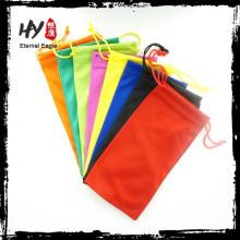 bolsa de têxteis de produto novo para óculos de sol, bolsa de cordão indiano, bolsa macia