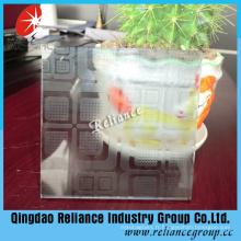 Décoration verre / acide vitre gravé pour décoration