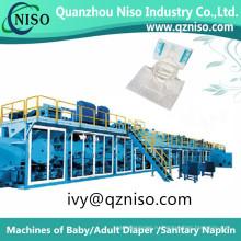 Экономический высокое качество взрослых пеленки делая машину Производство (CNK250-ВПГ)
