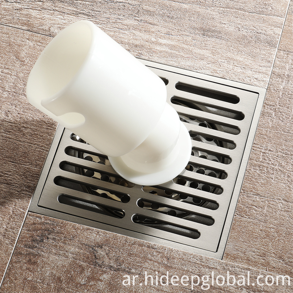 Square Polished Floor Drain