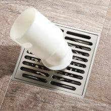 HIDEEP Square Polished Washing Machine Floor Drain