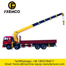 2 Ton Knuckle Boom Lorry Crane Rental