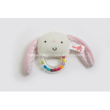 Factory Supply Knit Sweater Fabric Baby Handbell Toy