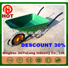 wholesale hot cheap South Africa power wheelbarrow with solid wheel