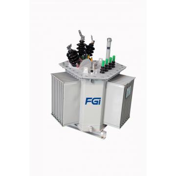 Triangular Coil Core Oil Type Transformer