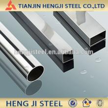Stahlrohr mit unterschiedlicher Form, rund, quadratisch, rechteckig