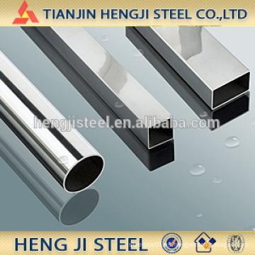 Tubo de acero con forma diferente, redondo, cuadrado, rectángulo