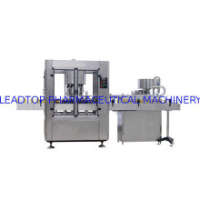 Rotary High Speed Glass / Plastic Bottle Capping Machine with Auto Capper