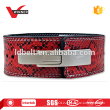 New real leather snake skin belts