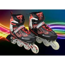 PU Wheel Red Children Roller Skate