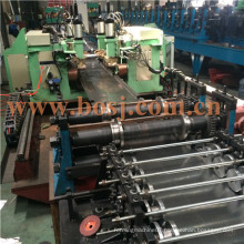 Double Sided Supermarket Metal Display Shelf Panel Roll Forming Production Machine Vietnam