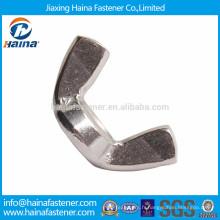 Fabriqué en Chine A2-70 écrou papillon en acier inoxydable
