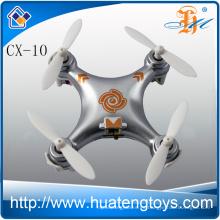Mini hobby de la venta caliente de la afición mini del rc del rc de la manía de la manía cx-10 mini 2.4g 4ch 6 quadcopter para la venta