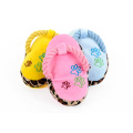 Perros Toy Pet Blue Puppy Cute Plush Slipper