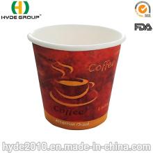 Taza de café de papel de 4 Oz con FDA & SGS