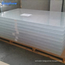 50mm clear transparent PMMA hard plastic sheets covers