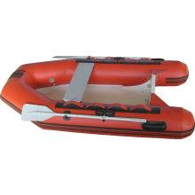 Bateau de pêche gonflable de nervure