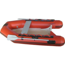 RIB inflatable fishing boat