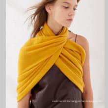 Оптовые девушки зима кашемир вязаный шарф на заказ снуд шарф шеи